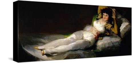 The Clothed Maja, circa 1800-Francisco de Goya-Stretched Canvas Print
