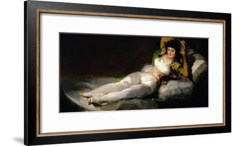 The Clothed Maja, circa 1800-Francisco de Goya-Framed Art Print