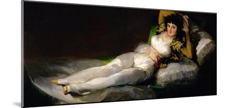 The Clothed Maja, circa 1800-Francisco de Goya-Mounted Giclee Print