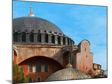 Hagia Sophia, Exterior, Detail of Dome, 6th Century--Mounted Giclee Print