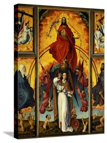 Altar of the Last Judgement-Rogier van der Weyden-Stretched Canvas Print