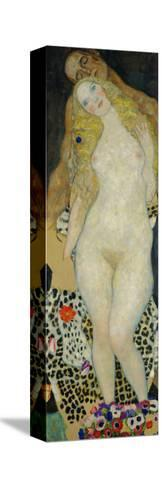 Adam and Eve, 1917-Gustav Klimt-Stretched Canvas Print