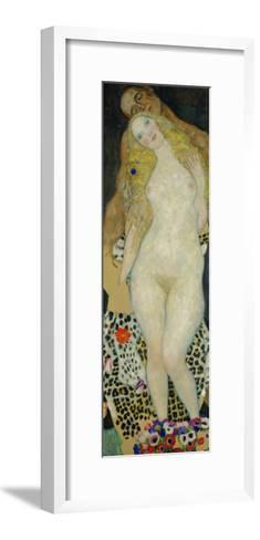 Adam and Eve, 1917-Gustav Klimt-Framed Art Print