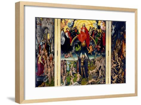 Weighing of the Souls, Triptych of the Last Judgment-Hans Memling-Framed Art Print