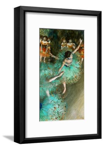 Green Dancer, circa 1880-Edgar Degas-Framed Art Print