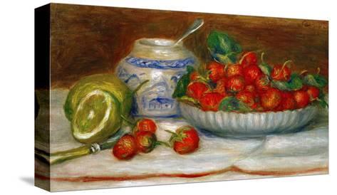 Strawberries, circa 1905-Pierre-Auguste Renoir-Stretched Canvas Print