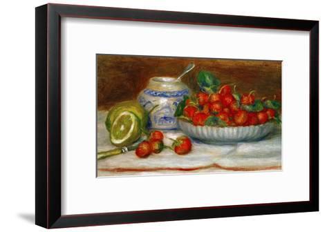 Strawberries, circa 1905-Pierre-Auguste Renoir-Framed Art Print