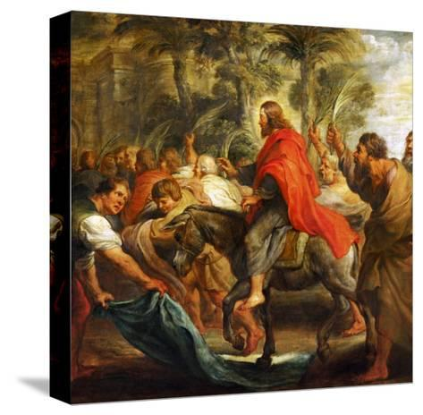 Christ's Entry into Jerusalem, 1632-Peter Paul Rubens-Stretched Canvas Print