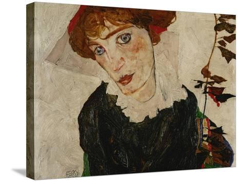 Portrait of Wally, 1912-Egon Schiele-Stretched Canvas Print