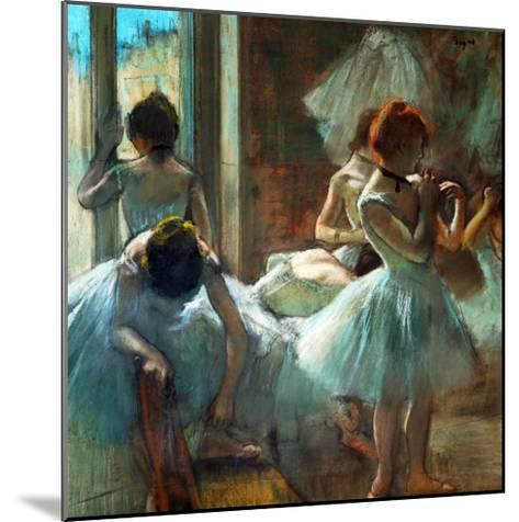 Dancers at Rest, 1884-1885-Edgar Degas-Mounted Giclee Print