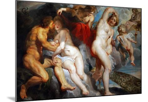 Ixion, King of the Lapiths, Deceived by Juno-Peter Paul Rubens-Mounted Giclee Print
