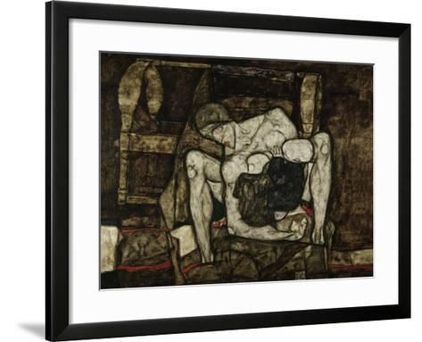 Blind Mother or the Mother, 1914-Egon Schiele-Framed Art Print