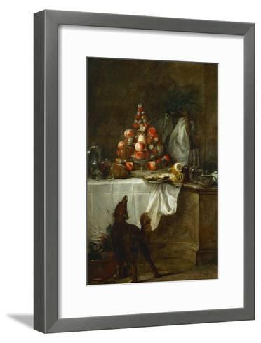 The Buffet, 1728-Jean-Baptiste Simeon Chardin-Framed Art Print