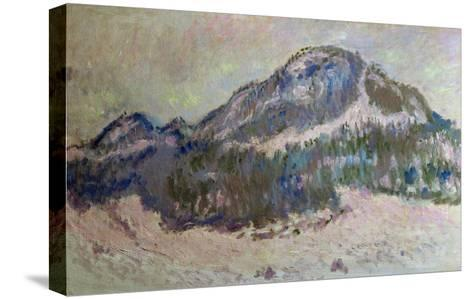 Mount Kolsaas in Norway, 1895-Claude Monet-Stretched Canvas Print