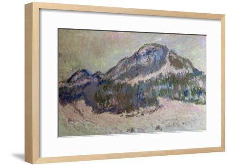 Mount Kolsaas in Norway, 1895-Claude Monet-Framed Art Print