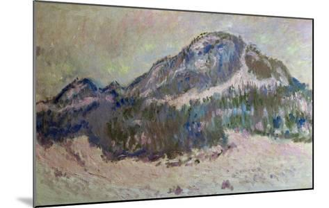 Mount Kolsaas in Norway, 1895-Claude Monet-Mounted Giclee Print