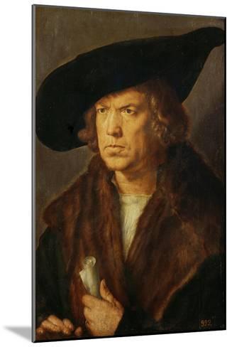 Portrait of an Unknown Man, 1524-Albrecht D?rer-Mounted Giclee Print
