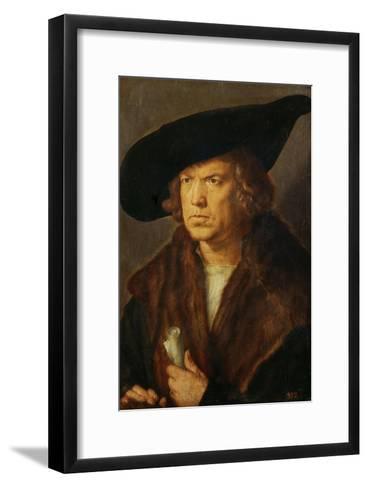 Portrait of an Unknown Man, 1524-Albrecht D?rer-Framed Art Print