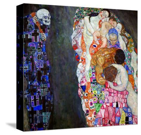 Life and Death (Tod Und Leben)-Gustav Klimt-Stretched Canvas Print