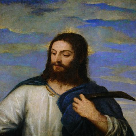 Noli Me Tangere-Titian (Tiziano Vecelli)-Stretched Canvas Print