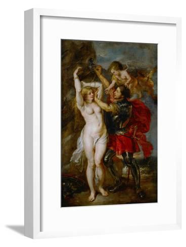 Andromeda Liberated by Perseus-Peter Paul Rubens-Framed Art Print