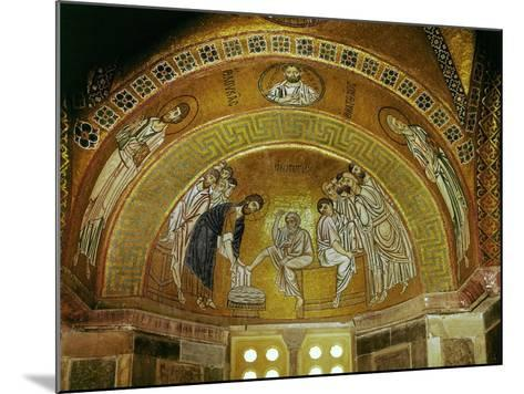 Christ Washing the Feet of an Apostle, Mosaic at the North End of the Narthex--Mounted Giclee Print