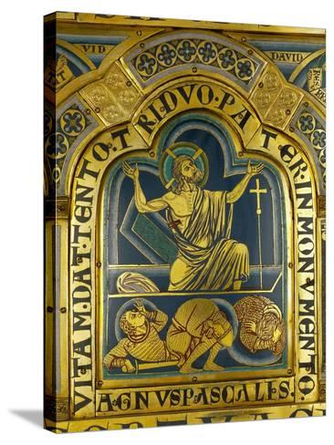 The Resurrection of Christ, from the Verdun Altar-Nicholas of Verdun-Stretched Canvas Print