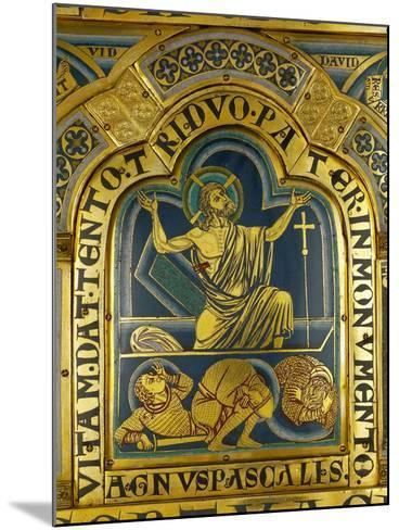 The Resurrection of Christ, from the Verdun Altar-Nicholas of Verdun-Mounted Giclee Print