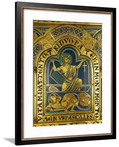The Resurrection of Christ, from the Verdun Altar-Nicholas of Verdun-Framed Art Print