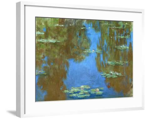Nympheas (Waterlilies), 1903-Claude Monet-Framed Art Print