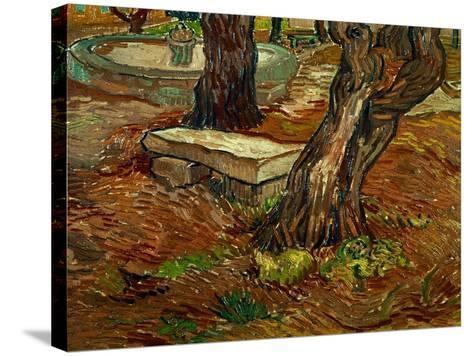 The Bench of Saint-Remy, c.1889-Vincent van Gogh-Stretched Canvas Print