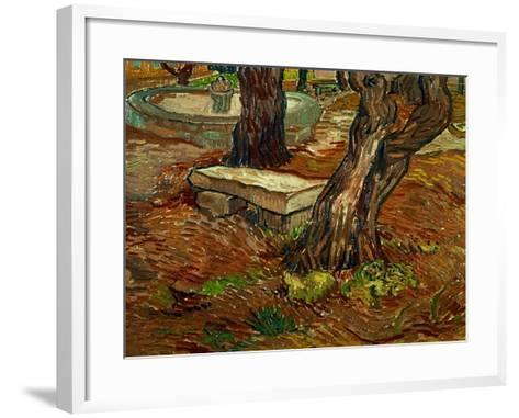 The Bench of Saint-Remy, c.1889-Vincent van Gogh-Framed Art Print