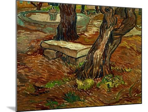 The Bench of Saint-Remy, c.1889-Vincent van Gogh-Mounted Giclee Print