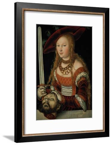Judith with the Head of Holofernes-Lucas Cranach the Elder-Framed Art Print