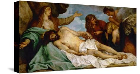 Bewailing of Christ, 1634-35-Sir Anthony Van Dyck-Stretched Canvas Print