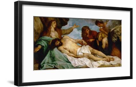 Bewailing of Christ, 1634-35-Sir Anthony Van Dyck-Framed Art Print