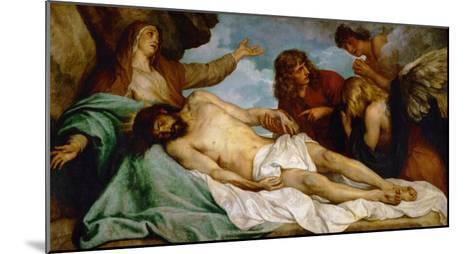 Bewailing of Christ, 1634-35-Sir Anthony Van Dyck-Mounted Giclee Print