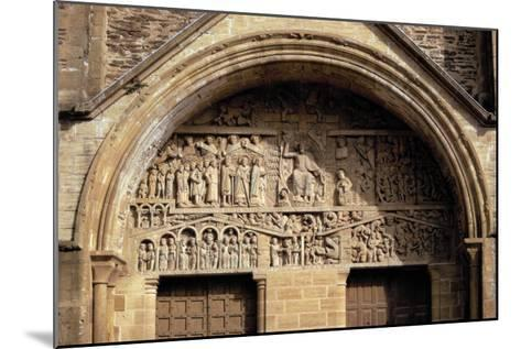 The Last Judgement, from the Tympanon Over the Main Entrance, Sainte-Foy, Conques, Aveyron--Mounted Giclee Print