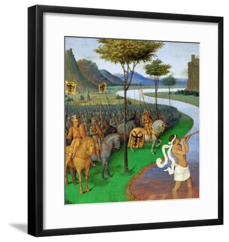 Caesar Crossing the Rubicon-Jean Fouquet-Framed Art Print