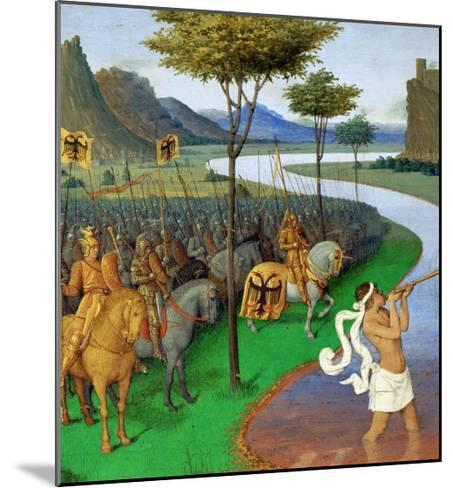 Caesar Crossing the Rubicon-Jean Fouquet-Mounted Giclee Print