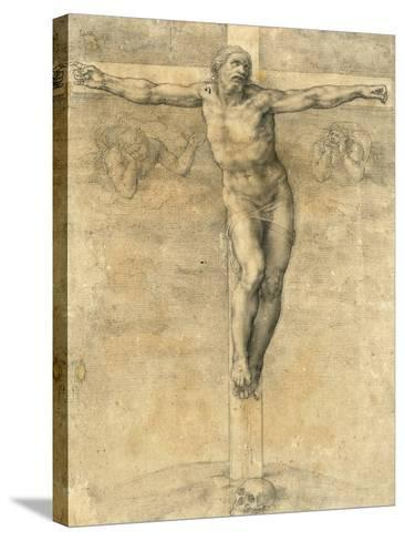 Christ on the Cross, Around 1541-Michelangelo Buonarroti-Stretched Canvas Print