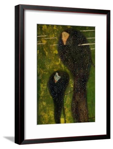 Nixen, Silberfische (Water Nymphs, Silverfish), 1894-Gustav Klimt-Framed Art Print