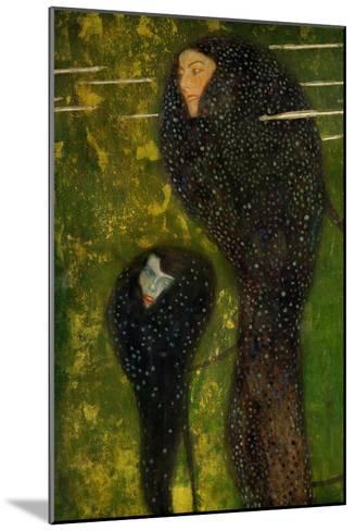 Nixen, Silberfische (Water Nymphs, Silverfish), 1894-Gustav Klimt-Mounted Giclee Print
