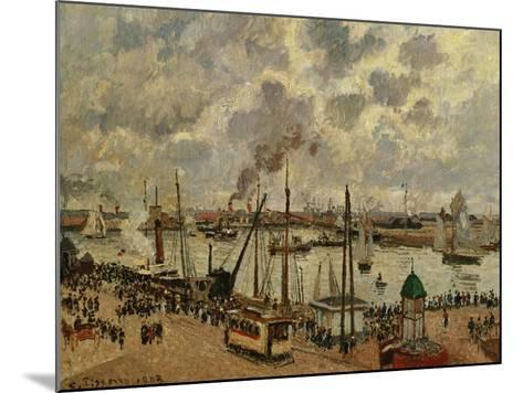 Port Du Havre, 1903-Camille Pissarro-Mounted Giclee Print