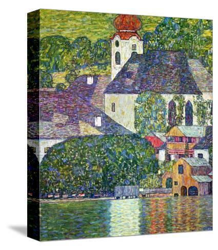 Kirche in Unterach Am Attersee, Church in Unterach on Attersee-Gustav Klimt-Stretched Canvas Print