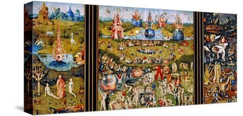 Garden of Delights-Hieronymus Bosch-Stretched Canvas Print