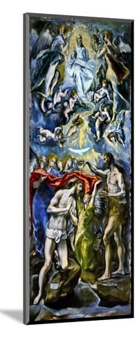The Baptism of Jesus Christ, 1597/1600-El Greco-Mounted Giclee Print