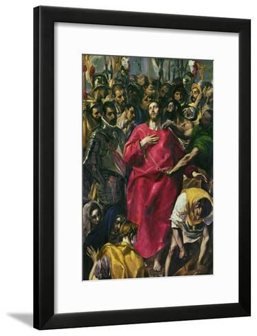 The Disrobing of Christ, 1577-1579-El Greco-Framed Art Print