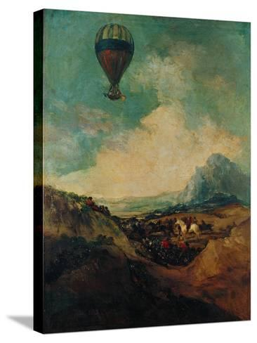 The Balloon, or the Rising of the Montgolfiere-Suzanne Valadon-Stretched Canvas Print