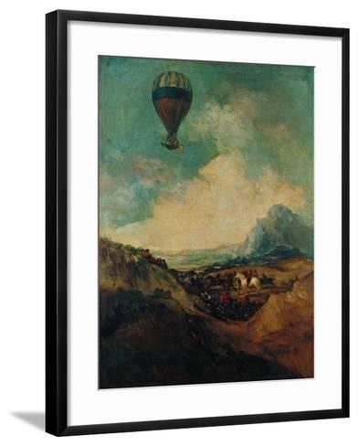 The Balloon, or the Rising of the Montgolfiere-Suzanne Valadon-Framed Art Print